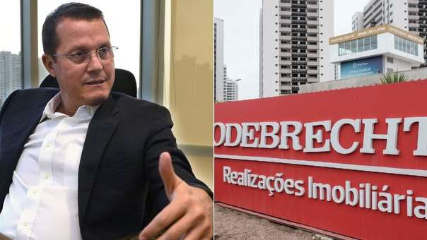 Jorge Barata, exjefe de Odebrecht en Perú.