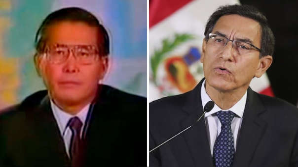 Alberto Fujimori / Martín Vizcarra