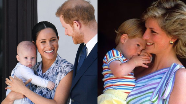 Meghan Markle, el Príncipe Harry y Lady Di