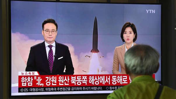 Proyectiles de Corea del Norte