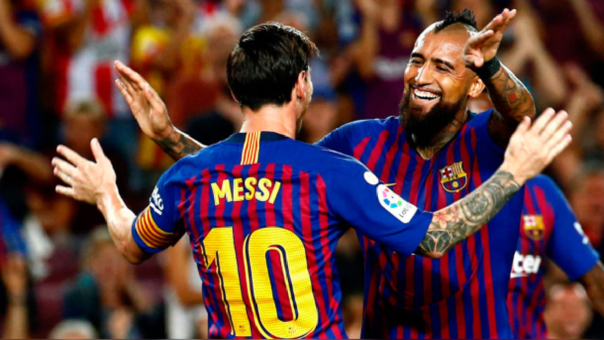 Lionel Messi sobre Arturo Vidal: