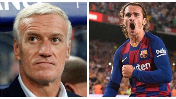 Didier Deschamps sobre Antoine Griezmann en Barcelona: