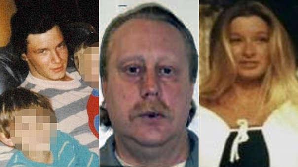 Michael Sanders, el asesino Russell Bucklew y Stephanie Ray, los involucrados en el caso.