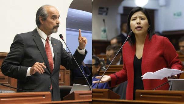 Mauricio Mulder e Indira Huilca
