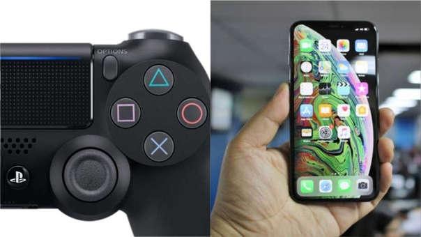 control de PS4 iPhone