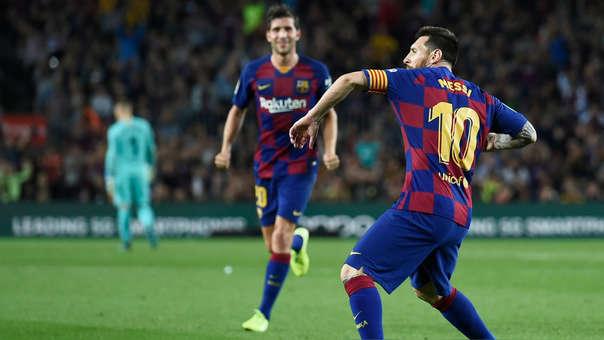 Barcelona goleó 4-0 a Sevilla