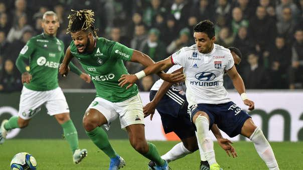 Saint Etienne venció 1-0 a Lyon