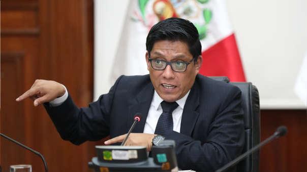 El jefe de Gabinete MInisterial, Vicente Zeballos, dijo que el Gobierno mantendrá una posición neutral en las elecciones congresales de 2020.