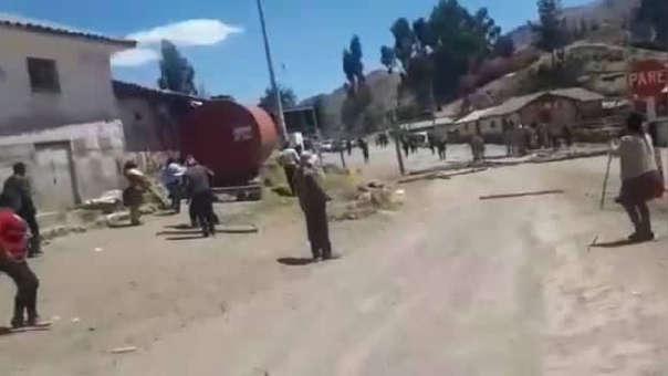 Enfrentamientos en Paruro.
