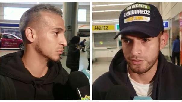 Miguel Trauco y Carlos Zambrano tuvieron un largo viaje para llegar a Montevideo