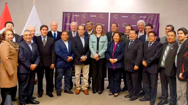 León sostuvo que la Confiep continuará trabajando planes como el de infraestructura y el de competitividad.