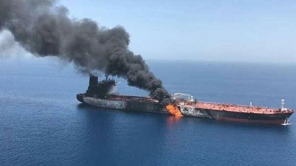 Ataque petrolero iraní