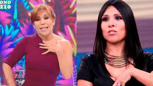 """Magaly Medina lanza indirecta a Tula Rodríguez y Maju Mantilla: """"Yo soy periodista, no bataclana pues"""""""
