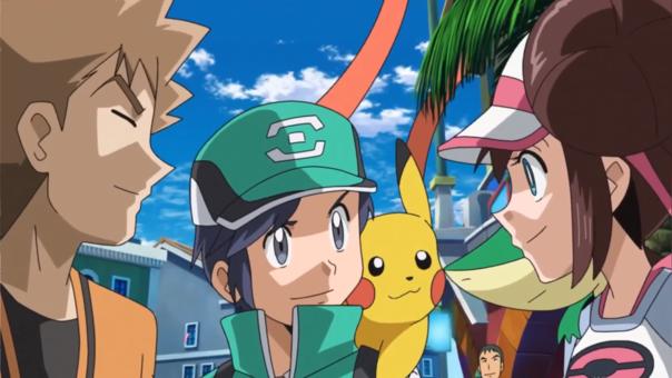 Pokémon Masters animación