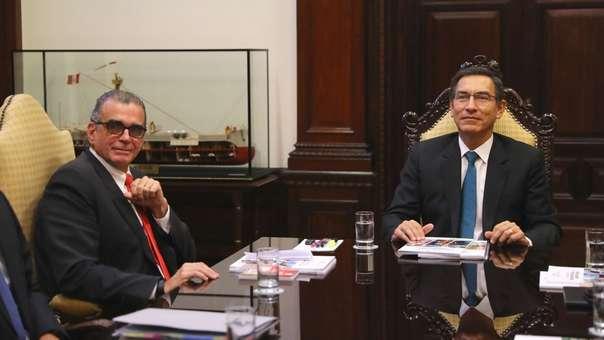 Martín Vizcarra se pronunció sobre la demanda competencial que presentó Olaechea.