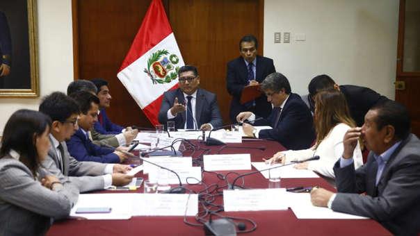 El presidente del grupo de trabajo, Mario Mantilla, pide que se reactive la Subcomisión como parte de la Comisión Permanente.