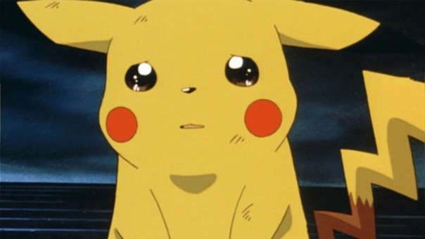 Pikachu triste