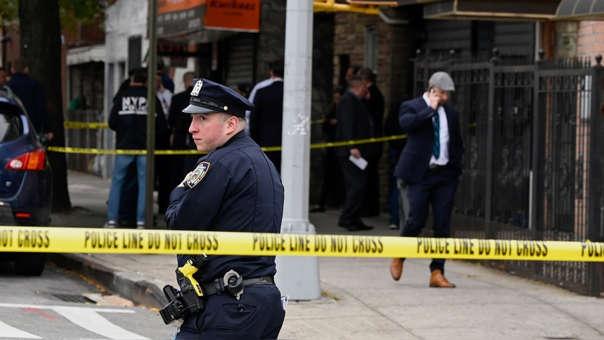 La Policía acordona la escena del crimen