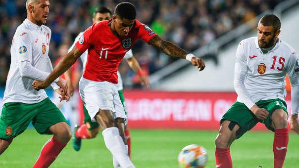 ¡Qué abusivo! Velocidad, enganche y golazo de Marcus Rashford para Inglaterra por Eliminatorias Eurocopa 2020