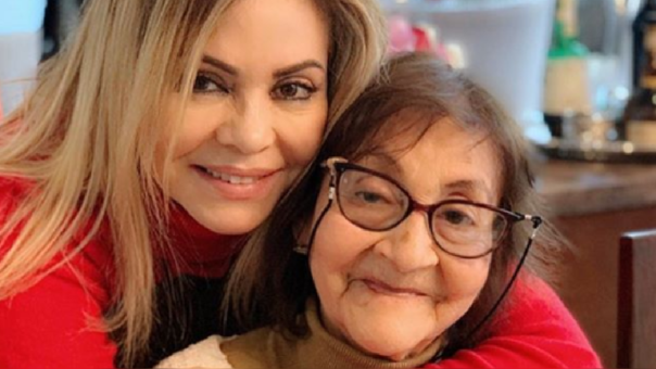 Gisela Valcárcel y su madre Teresa