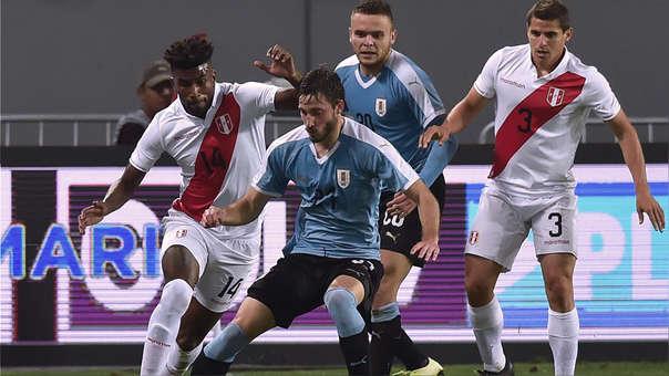 Perú empató 1-1 ante Uruguay