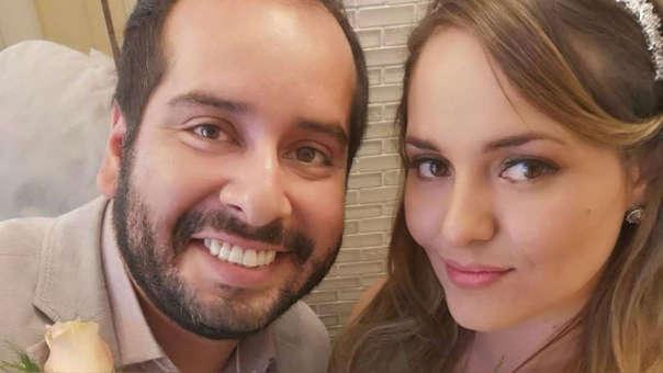 Junior Silva y Carla Tello