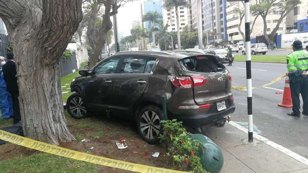 Melisa González Glagliuffi causó un trágico accidente en San Isidro.