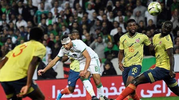 Colombia 0-3 Argelia: en amistoso internacional por fecha FIFA 2019