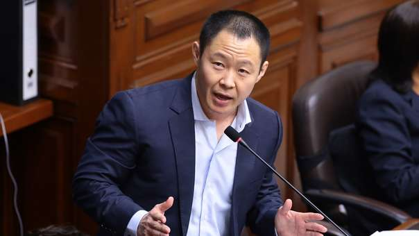 Kenji Fujimori se pronunció sobre la situación política del país.