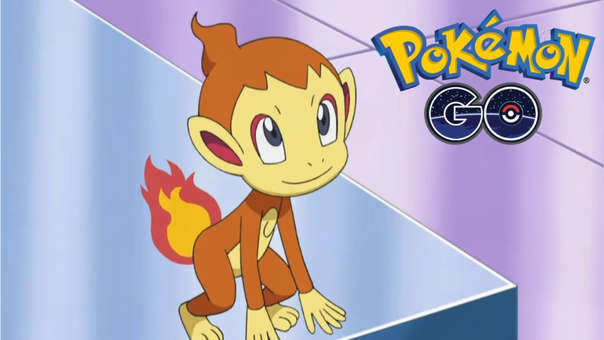Chimchar Pokémon GO