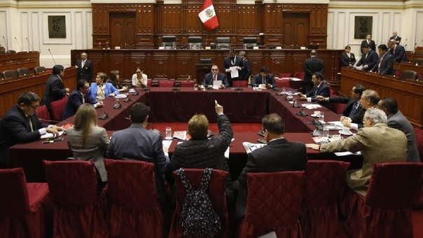 Nueva sesión de la Comisión Permanente.