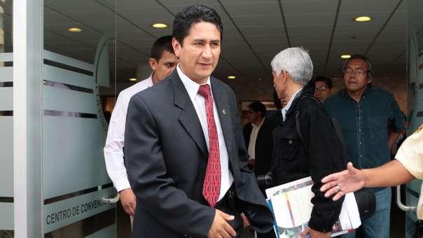 Vladimir Cerrón Rojas, gobernador suspendido de la región Junín.