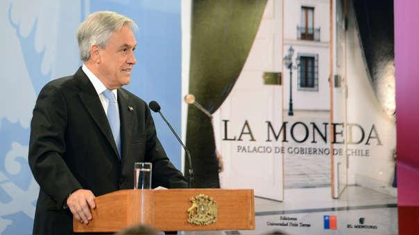 El presidente de Chile, Sebastián Piñera, dio un mensaje a la nación este sábado.
