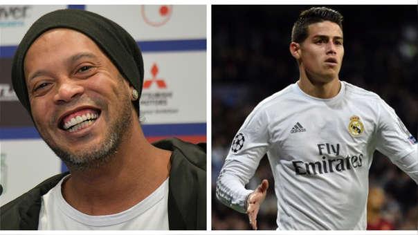 Ronaldinho sobre James Rodríguez: