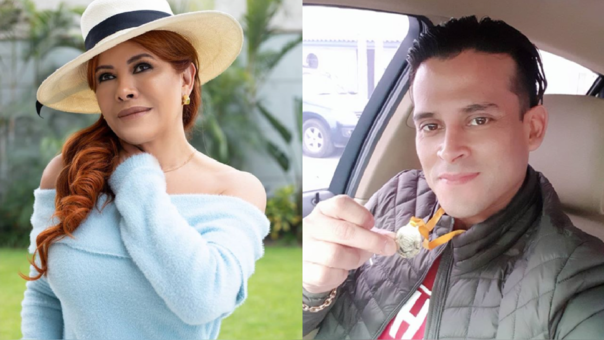 Magaly Medina y Christian Domínguez