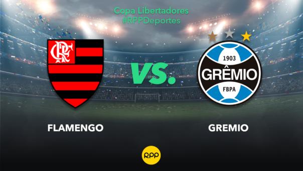 Flamengo vs. Gremio EN VIVO: se enfrentan por el duelo de vuelta de la Copa Libertadores 2019