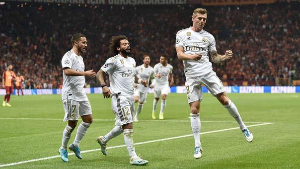 Celebra Real Madrid: Hazard 'rompió' cinturas y Kroos definió con precisión
