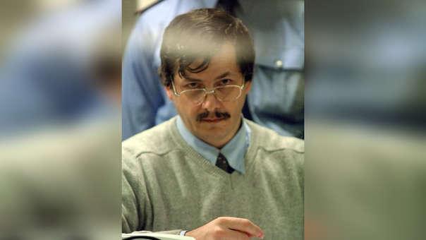Marc Dutroux en el 2004, durante el proceso judicial en el que fue condenado