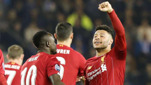 ¿El gol de la Champions? Oxlade-Chamberlain, remate a 'tres dedos' y festejo del Liverpool