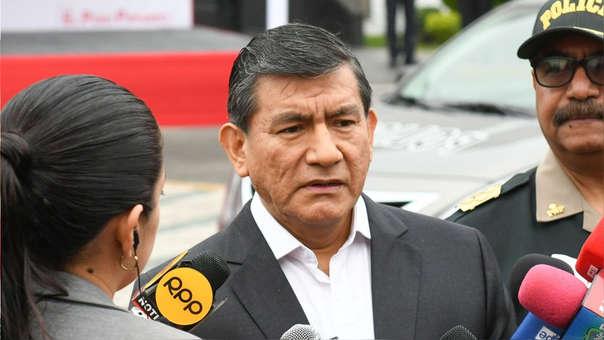 El ministro del Interior, Carlos Morán.