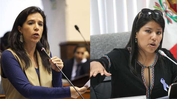Tanto Marisa Glave como Indira Huilca pertenecen a la Comisión Permanente, la primera como suplente y la segunda como titular.