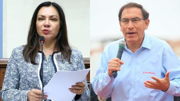 Espinoza presentó un recurso contra Vizcarra.