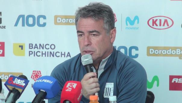 Pablo Bengoechea sobre partido ante Melgar