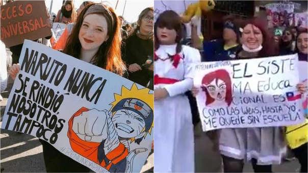 Los otakus se han unido a las protestas generalizadas en Chile.