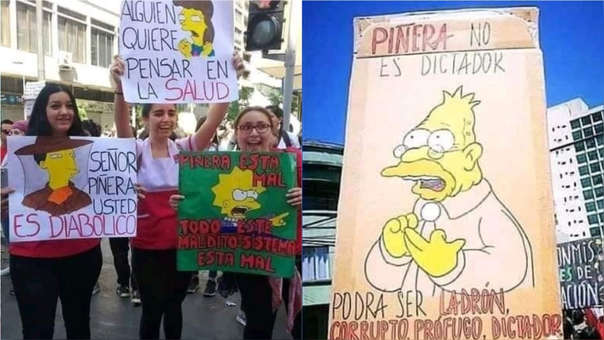 The Simpson Chile