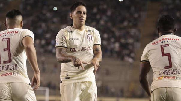 Alejandro Hohberg aclaró el gesto que hizo en la celebración de su gol con Universitario ante Cantolao