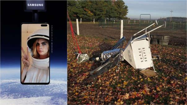 Cara Delevingne es la figura de esta estrategia publicitaria de Samsung.