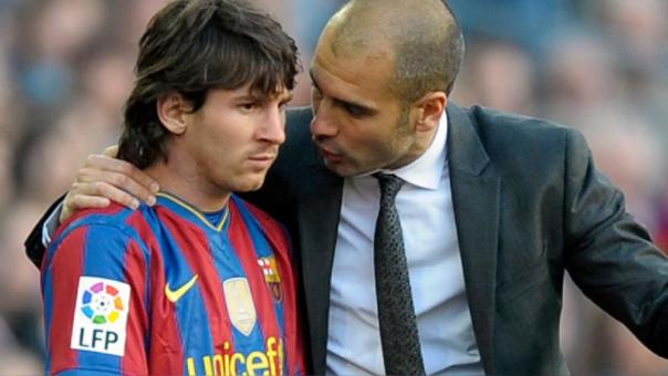 'Pep' Guardiola sobre Lionel Messi: