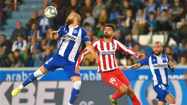 Atlético de Madrid vs. Alavés EN VIVO: empatan 0-0 por la fecha 11 de LaLiga en el Estadio de Mendizorroza