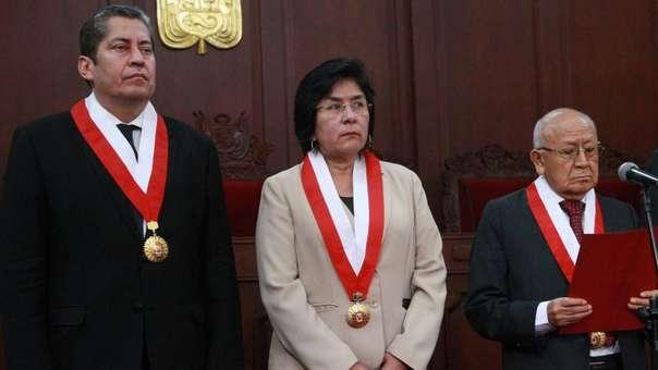 Marianella Ledesma, magistrada del TC.